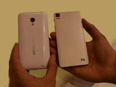 Smartphones de Meizu y bq con Ubuntu