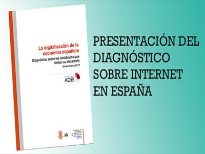 Presentación del diagnóstico sobre Internet en España del Observatorio ADEI