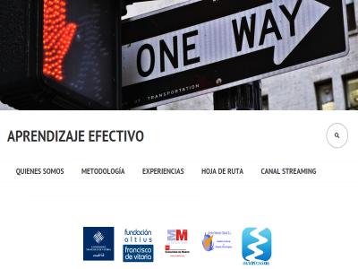 Aprendizaje Efectivo | Un nuevo concepto de formación desarrollado por Estudio de Madrización | Con la colaboración de Acción Network Global