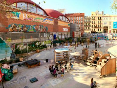 El Campo de Cebada, una novedosa y exitosa experiencia de gestión cultural colectiva en la zona de La Latina del Distrito Centro de Madrid