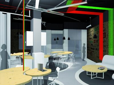 Proyecto Aceleradora de Empresas StartUp Alcobendas | Diseño: Estudio 2arquitectos.com
