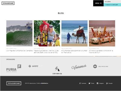 Totalsurfcamp, primer directorio de surfcamps del mundo